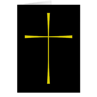 Libro de la cruz de la oración común tarjeta de felicitación