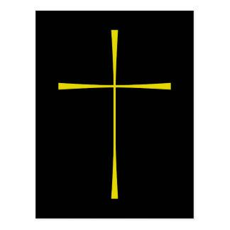 Libro de la cruz de la oración común tarjetas postales
