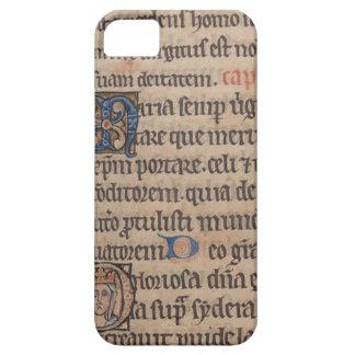 Libro de la escritura del latín medieval de las ho iPhone 5 cobertura