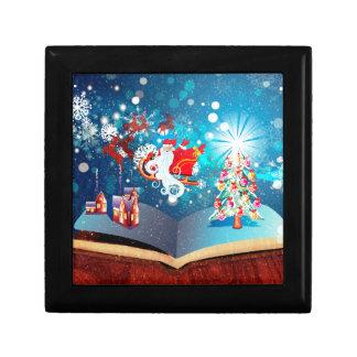 Libro de la magia del navidad joyero