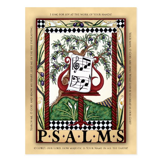 Libro de la postal de los salmos