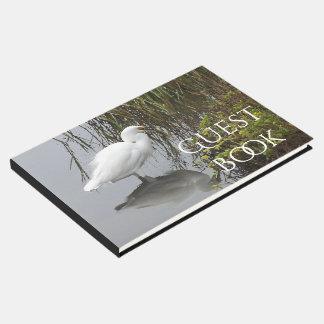 Libro de visitas animal de la costa de la fauna