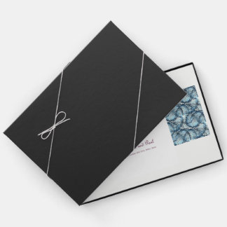 Libro de visitas artístico del boda