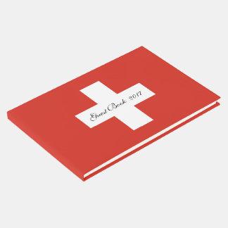 Libro De Visitas Bandera de Suiza