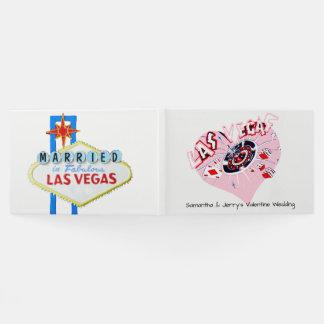 Libro De Visitas Boda de la tarjeta del día de San Valentín de Las