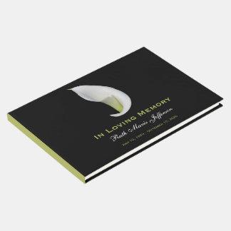 Libro de visitas conmemorativo o fúnebre de la