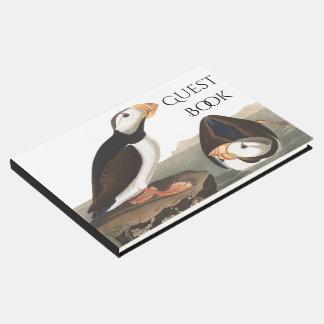 Libro de visitas del animal de la fauna de los