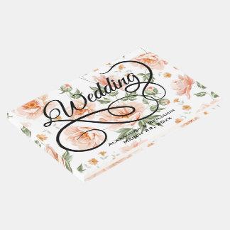 Libro de visitas del boda