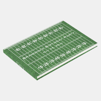 Libro de visitas del diseño del campo de fútbol