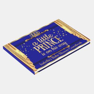 Libro De Visitas El oro del azul real cubre al príncipe fiesta de