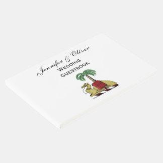 Libro De Visitas Escudo de armas heráldico del color de la palmera