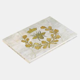 Libro De Visitas Escudo de la abeja y modelo reales del fresco