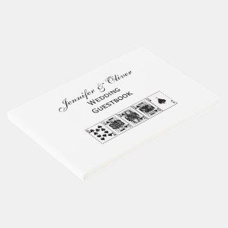 Libro De Visitas Espadas reales del rubor recto del póker de la
