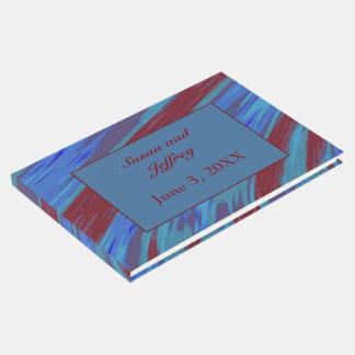 Libro De Visitas Extracto del chasquido del color de azul rojo
