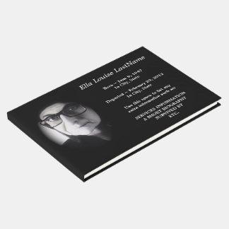 libro de visitas fúnebre conmemorativo