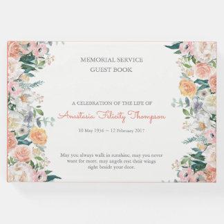 Libro de visitas fúnebre conmemorativo de los