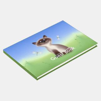 Libro De Visitas Gato astuto