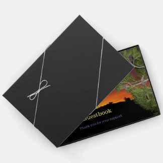 Libro De Visitas Guestbook de la salida del sol