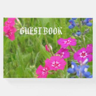 Libro De Visitas Guestbook, floral