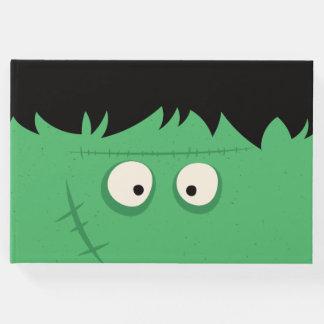 Libro De Visitas Monstruo lindo de Frankenstein del truco o de la