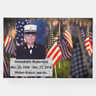 Libro De Visitas Monumento personalizado de AmericanVeteran
