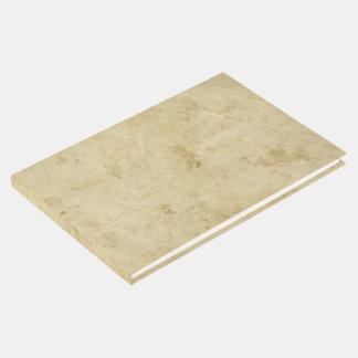 Libro De Visitas Pergamino manchado espacio en blanco antiguo