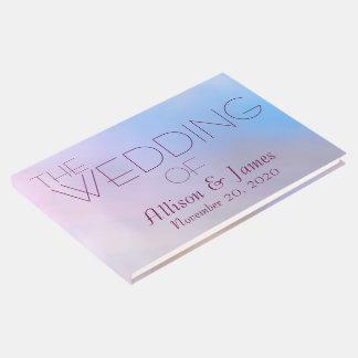 Libro De Visitas Personalizable de la cereza del boda