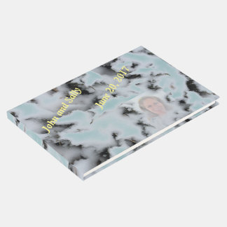 Libro De Visitas Personalizado añada la foto eligen la nieve Camo