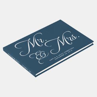 Libro de visitas, Sr. y señora, marina de guerra y
