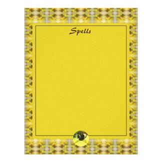 Libro del BOS de la abeja y de la vara de oro de Flyer