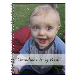 Libro del Brag de la foto de las abuelas Cuaderno