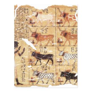Libro del Dead-Maiherperi-1479bc Postal