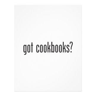 libros de cocina conseguidos tarjetón