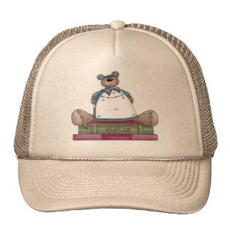 Libros del oso de peluche gorras