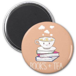 Libros + Imán del té