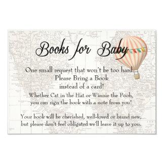 Libros para la tarjeta del bebé - chica rosado del