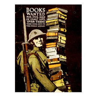 Libros queridos postal