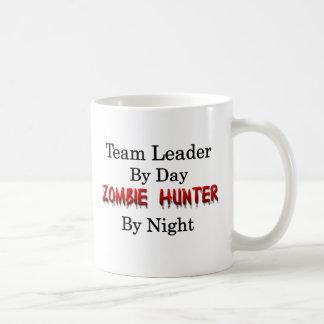 Líder de equipo/cazador del zombi taza de café