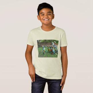 Líder de la camiseta del paquete
