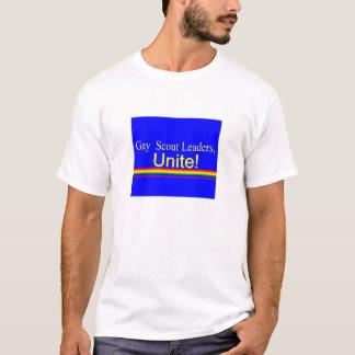 Líderes del explorador camiseta