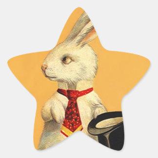 Liebres mágicas del conejo de la tripleta de colcomania cuadrada