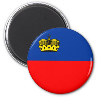 Liechtenstein Imán Redondo 5 Cm