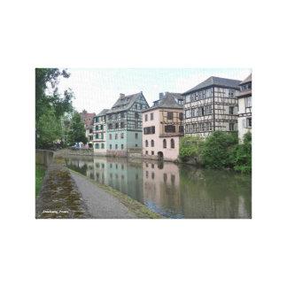 "Lienzo 14"" x 11"", 1,5"", lona - Estrasburgo, Francia"