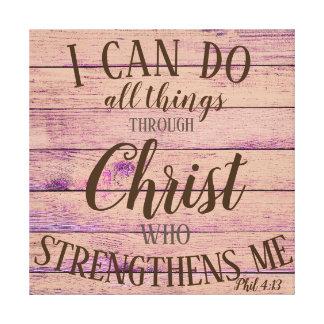 Lienzo 4:13 de Phil puedo hacer…