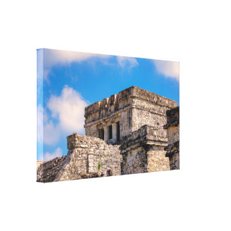 Lienzo Abrigo de la lona - ruinas mayas - Tulum, México