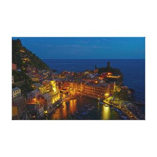 Lienzo Abrigo de la lona - Vernazza, Italia en la
