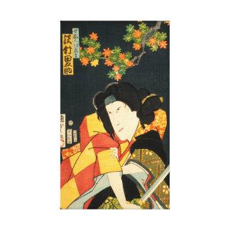 Lienzo Actor japonés (#6) (impresión del japonés del