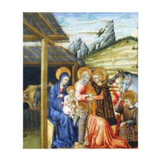 Lienzo Adoración de Juan di Pablo The de unos de los