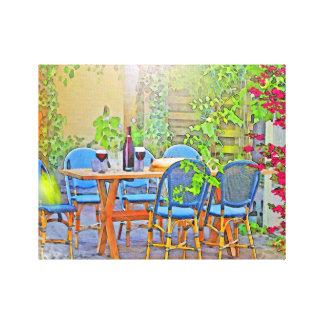 Lienzo Almuerzo en Provence (el sur de Francia)