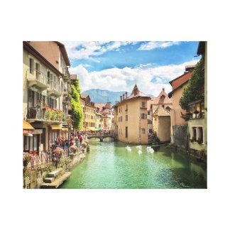 Lienzo Annecy